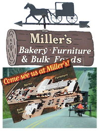 Millers Southern Ohio Amish Furniture Store And Bakery In Adams
