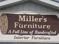 Millers Southern Ohio Amish Furniture Store And Bakery In